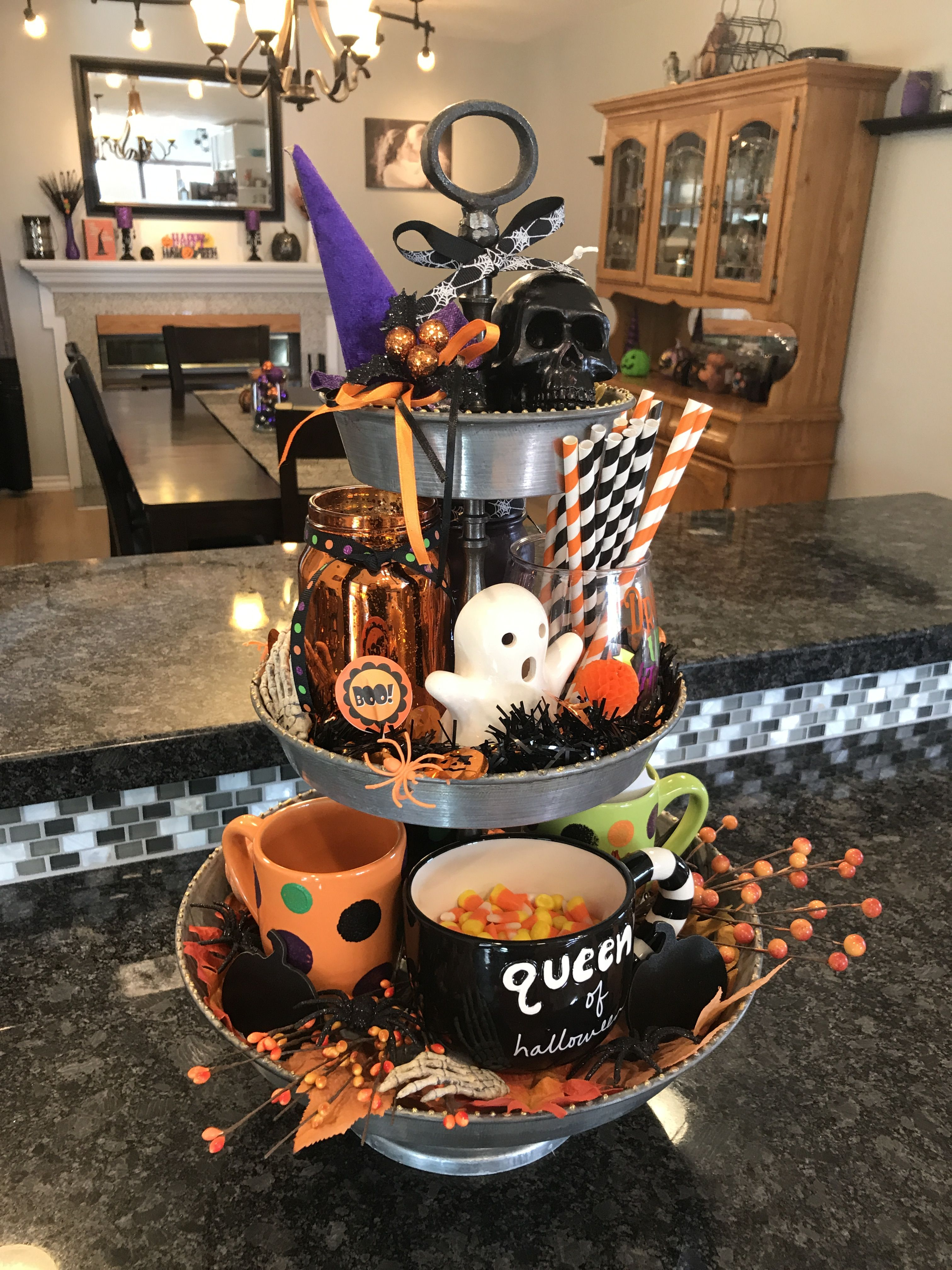 Pin By Holly Judd On Halloween Queen Halloween Decorations Indoor Diy Halloween Home Decor Easy Diy Halloween Decorations