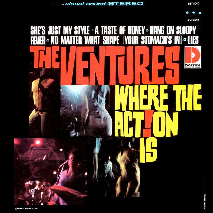 The Ventures Quot Where The Action Is Quot 1966 Cool Album