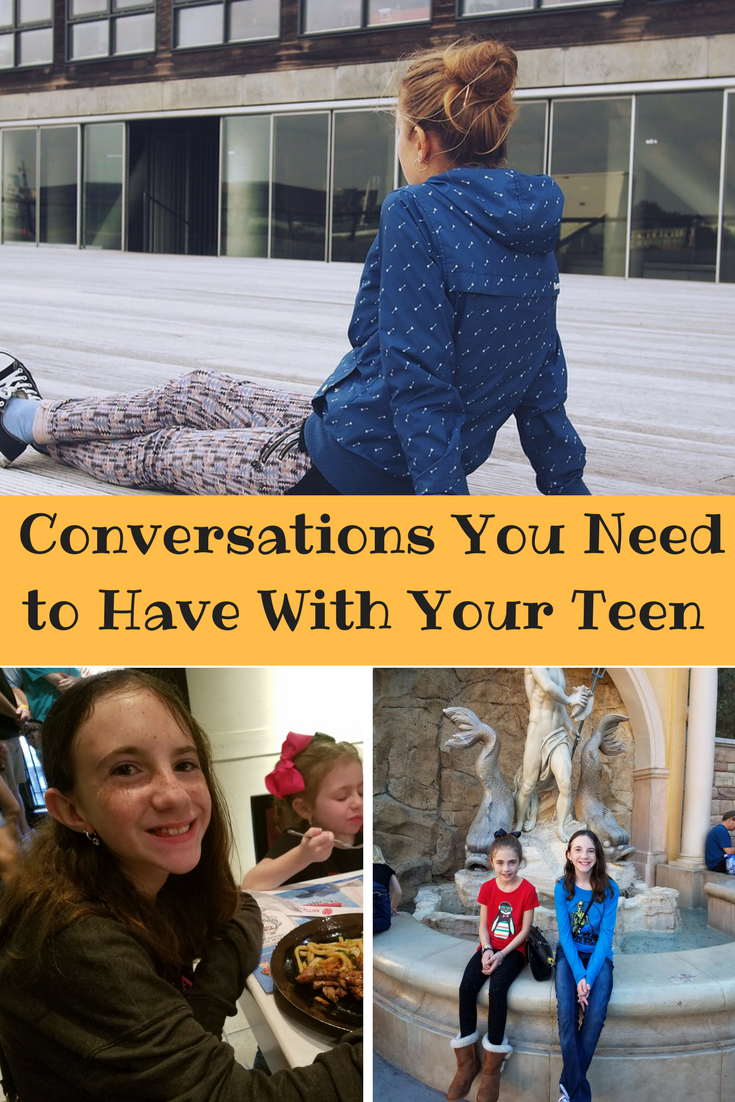 Raising a teenager can be hard and as parents, we will make mistakes. Here are life conversations you need to have with your teen so you help them grow.