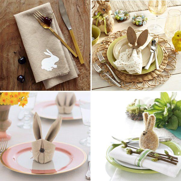 70 beautiful easter table decoration ideas - Easter Home Decorations