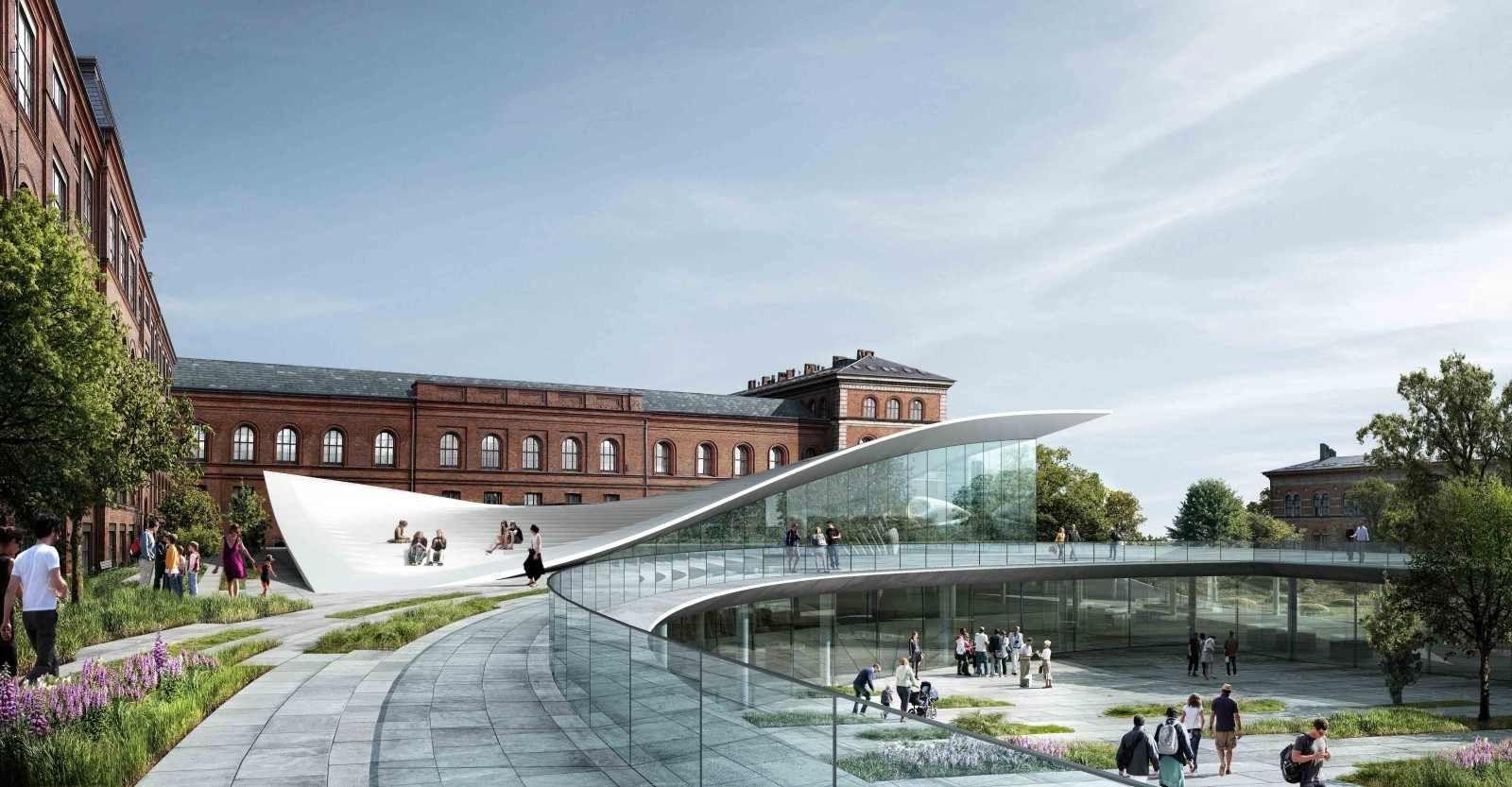 New Wing, National History Museum | Kengo Kuma, Erik Møller Arkitekter, JAJA architects http://www.arch2o.com/new-wing-national-history-museum-kengo-kuma-erik-moller-arkitekter-jaja-architects/