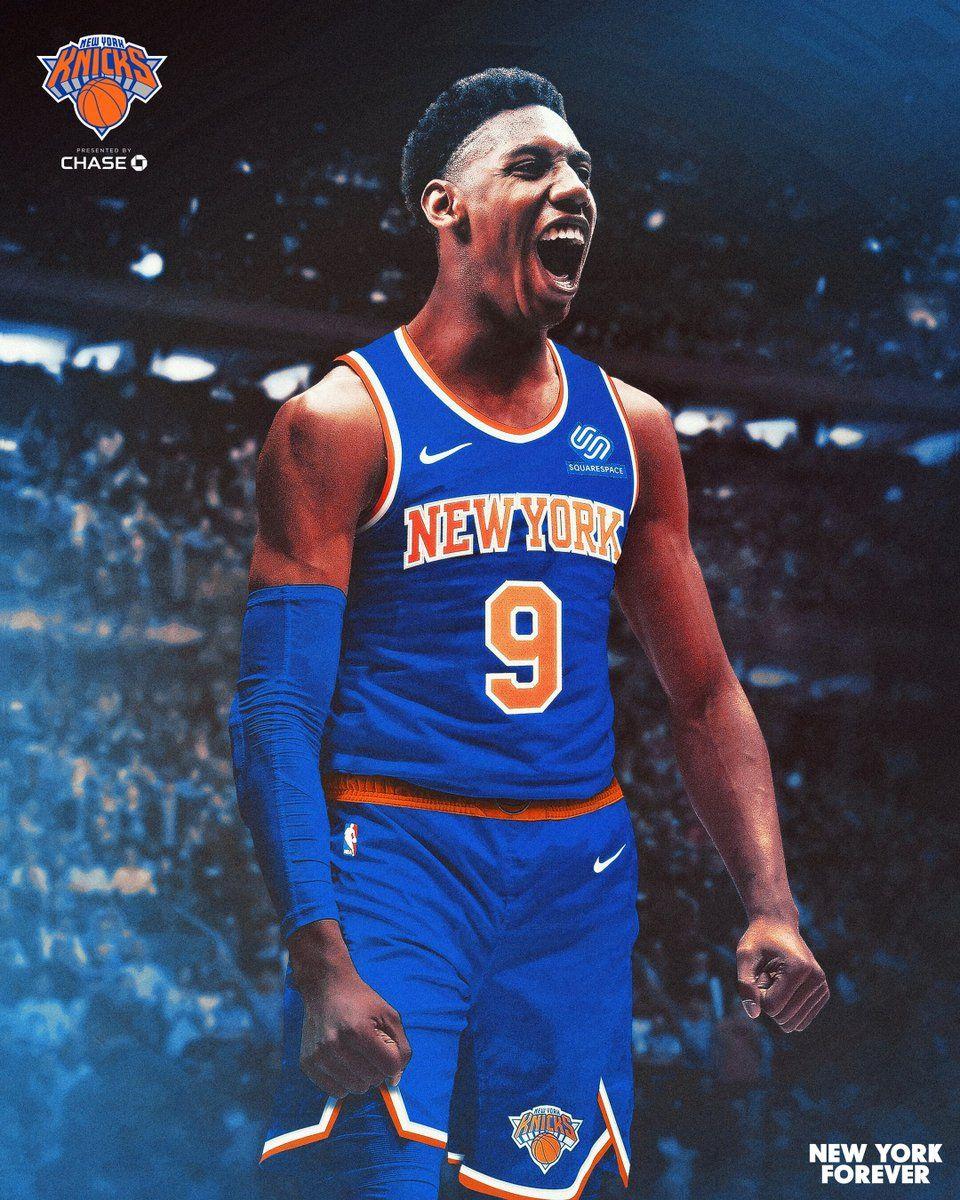 New York Knicks Wallpaper 2020 Rj Barrett New York Knicks Knicks Basketball Knicks
