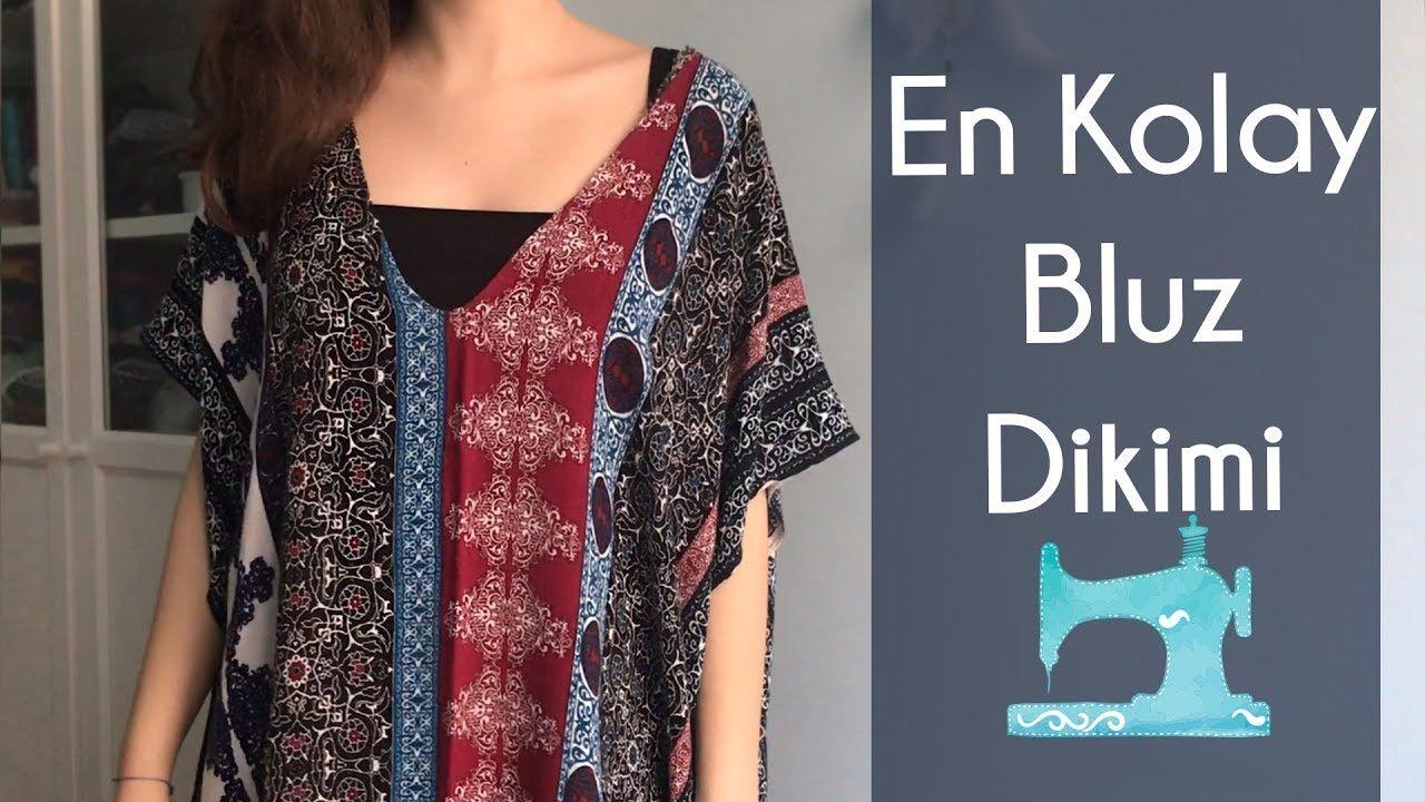 En Kolay Bluz Dikimi Yeni Baslayanlara Dikis Dersleri Kendin Yap Diy Youtube Dikis Dersleri Bluz Yeni Baslayanlar Dikis