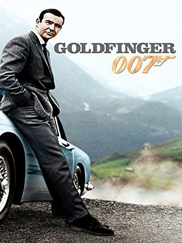 Goldfinger Amazon Video Sean Connery James Bond Sean