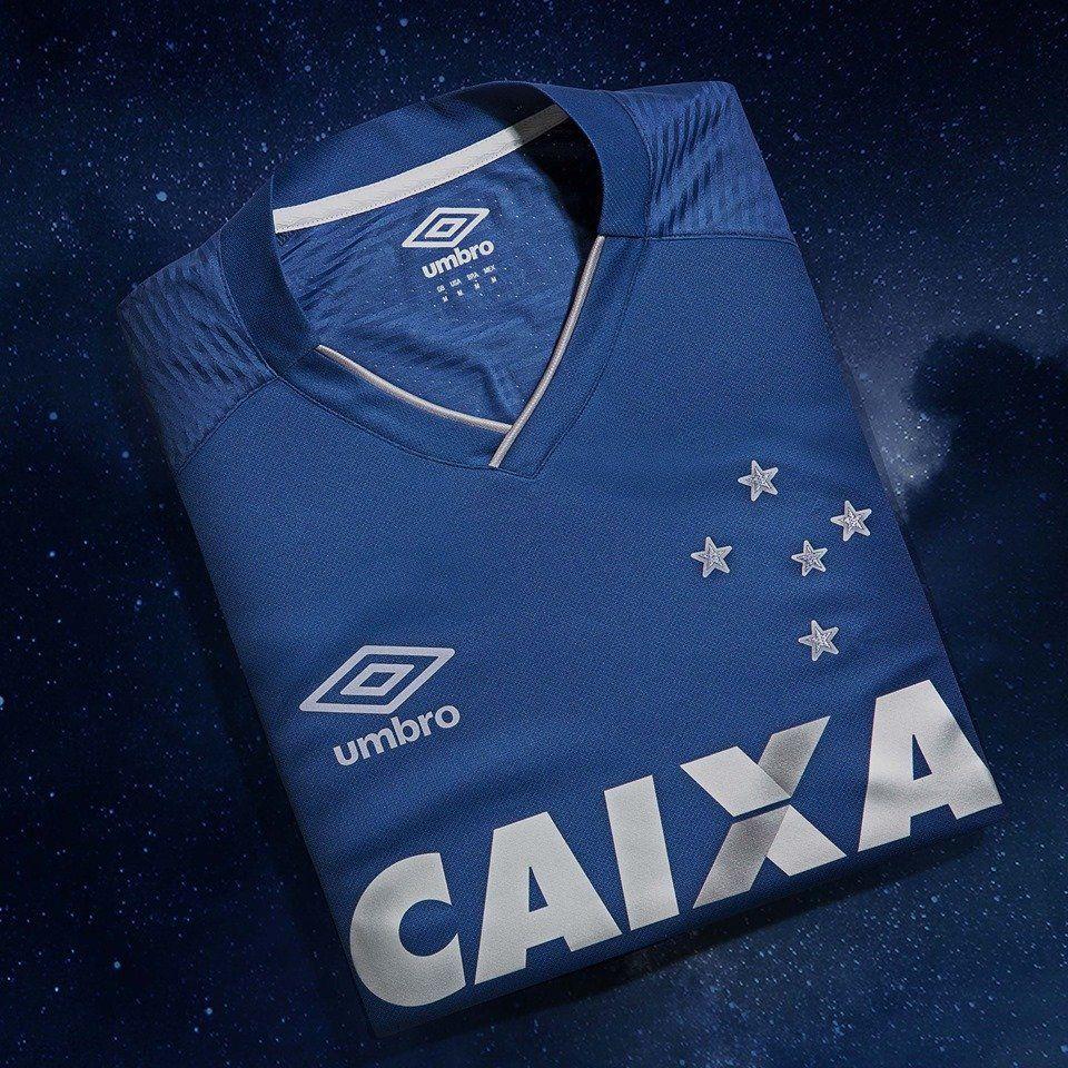 bc7e10a0a3 Terceira camisa do Cruzeiro 2017-2018 Umbro