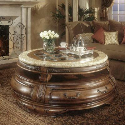 Michael Amini Tuscano Coffee Table Wayfair Aico Furniture