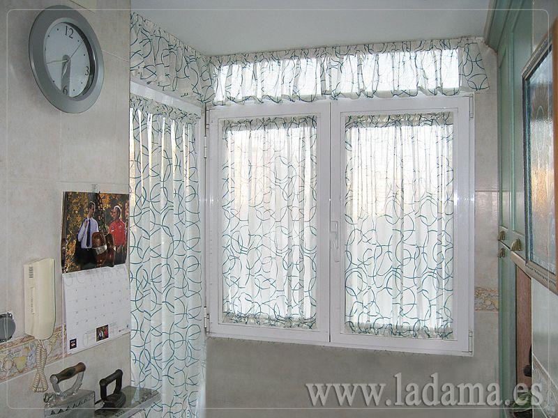 Telas para estores de cocina cortinas para cocina for Visillos para cortinas