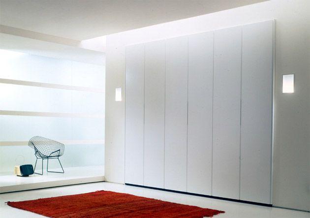schwebeturenschrank design, kleiderschrank weiß hochglanz - begehbarer & schwebetürenschrank, Design ideen