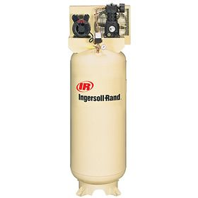 Ingersoll Rand Ss3l3 3 Hp 60 Gallon Single Stage Air Compressor 230v 1 Phase Air Compressor Ingersoll Rand Compressor