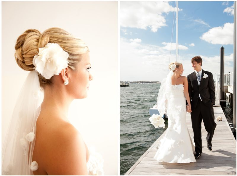 Real Wedding – love her hair