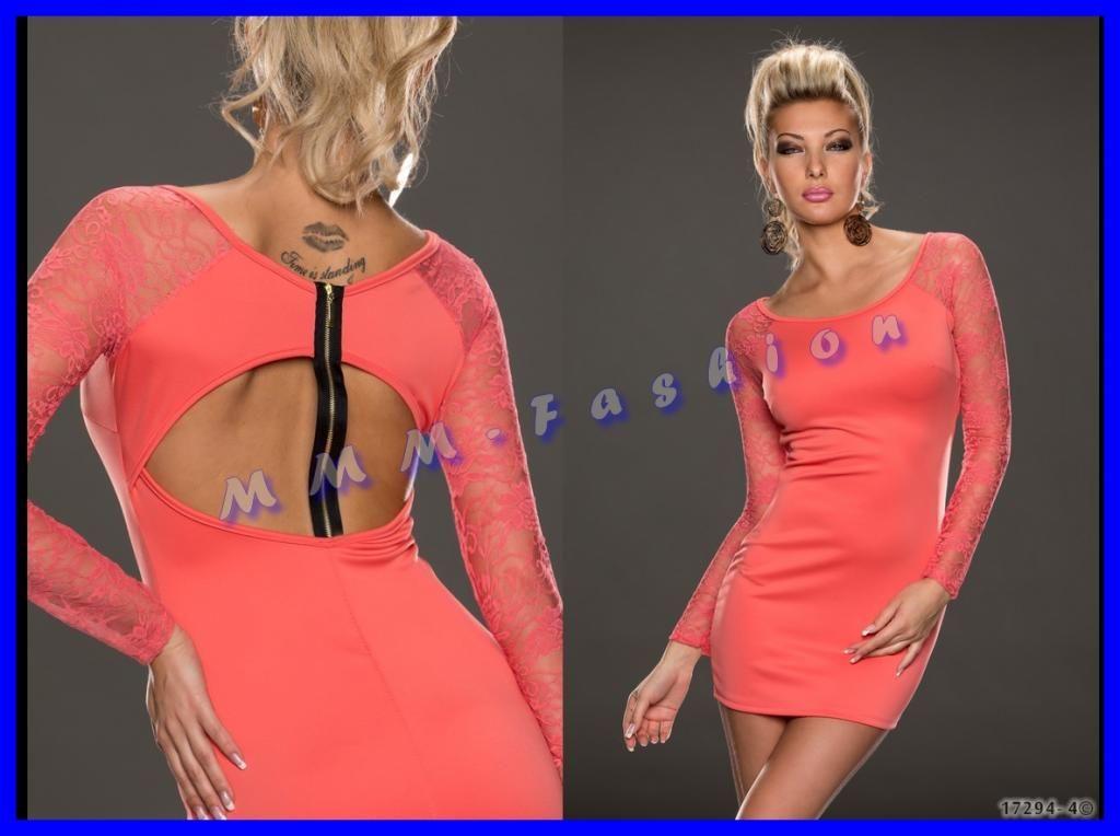 Mmm Fashion Urocza Sukienka Z Koronka I Zamkiem 4028482641 Oficjalne Archiwum Allegro Fashion Dresses Cold Shoulder Dress