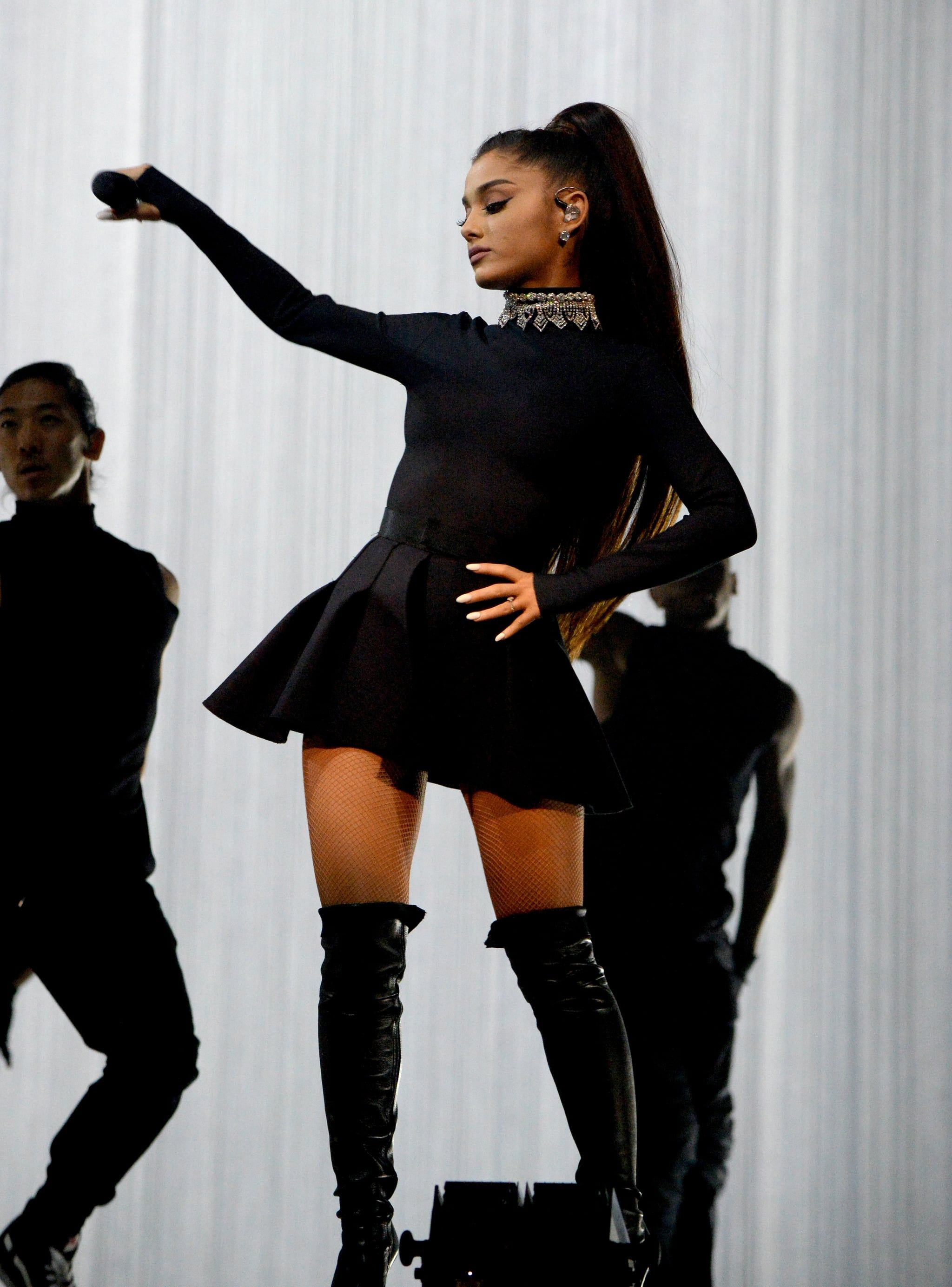 All Black Everything Ariana Ariana Grande Outfits Ariana Grande