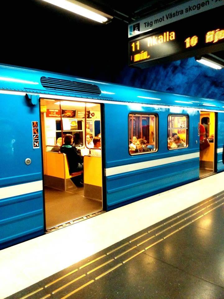 Stoccolma -  Tunnelbana