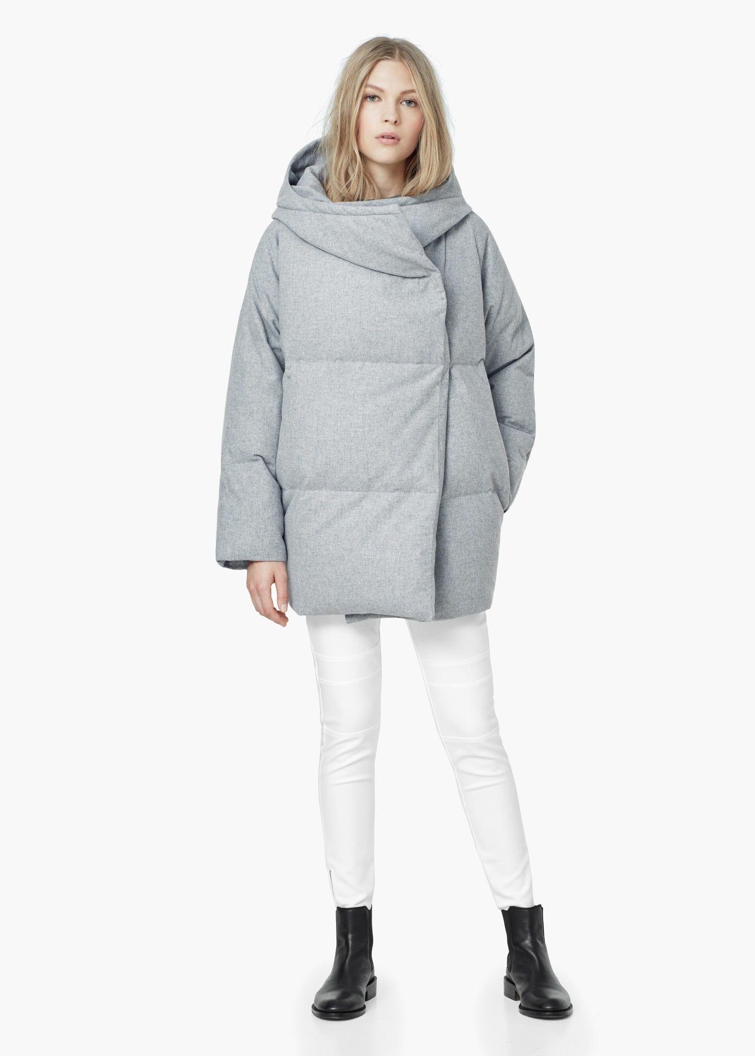 Стеганый анорак-пуховик - Женская в 2019 г.   пальто   Coat, Feather ... bf3f038f64e