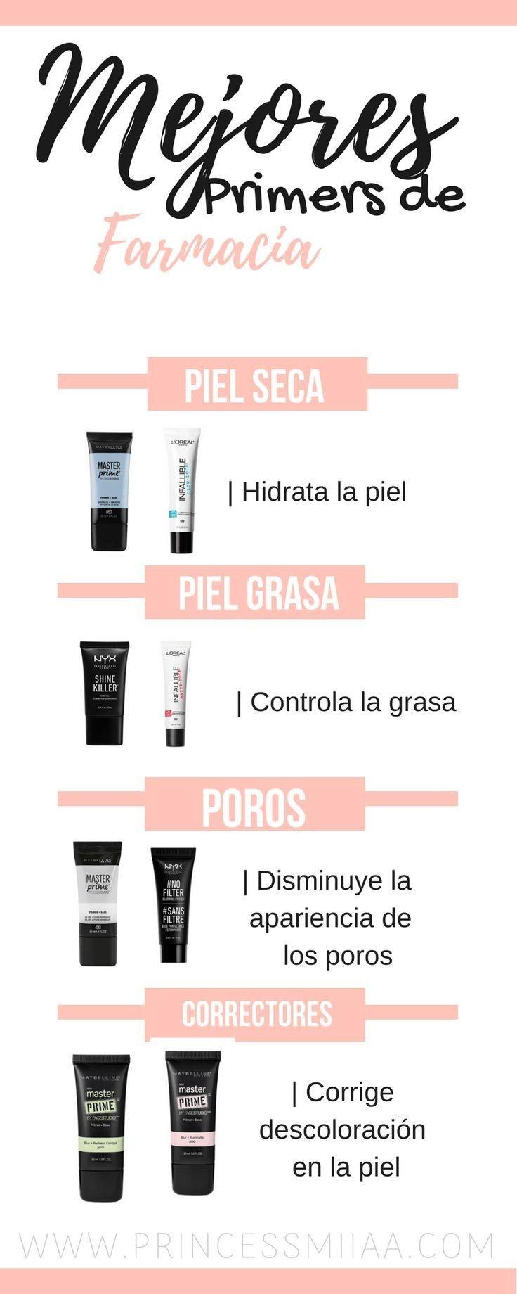 Primers Que Debes Usar Según Tu Tipo De Piel Maquillaje Para Piel Grasa Consejos De Maquillaje Trucos Y Consejos De Maquillaje