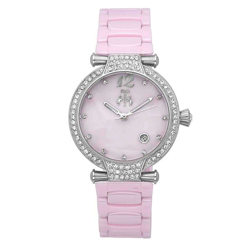 Jivago Ladies' Bijoux Watch in Pink - Beyond the Rack $144.99