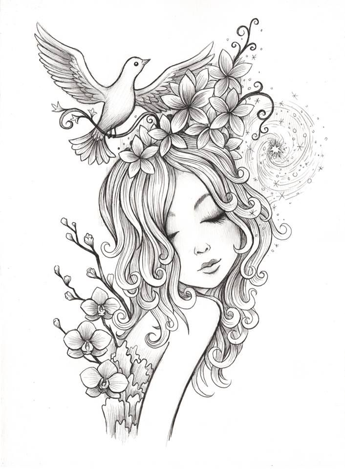 Spiral Coloring Page Instant Download Jeremiah Ketner