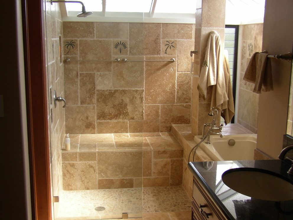 Awe-Inspiring Contemporary Small Bathroom Remodeling  OLYMPUS