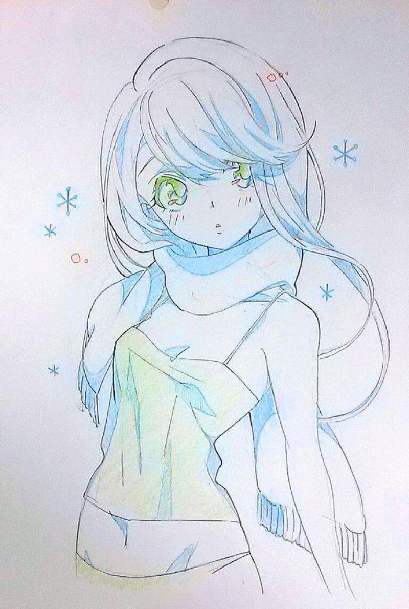 Fille manga 3 pinteres - Photo manga fille ...