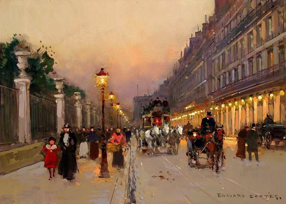 La Rue de Rivoli 1905