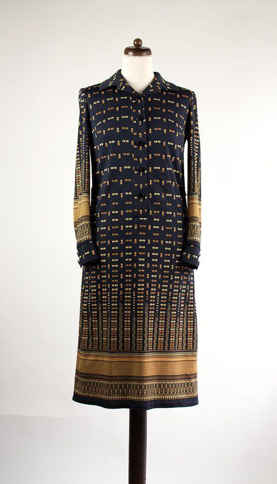 vintage kleid 70er  von vanevanevintage auf etsy