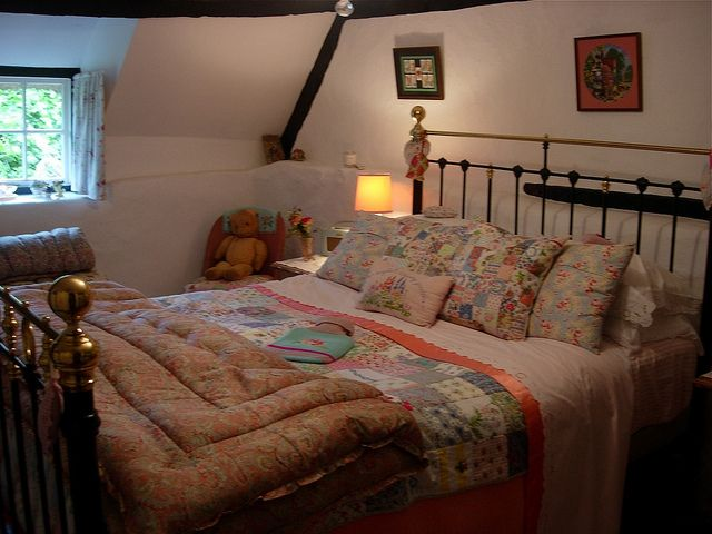 Cottage Bedroom   Flickr   Photo Sharing. Cottage Bedroom   Flickr   Photo Sharing    Slopey Ceilings