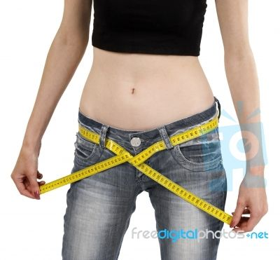 Lady Measuring Weight Loss  sets me thinking