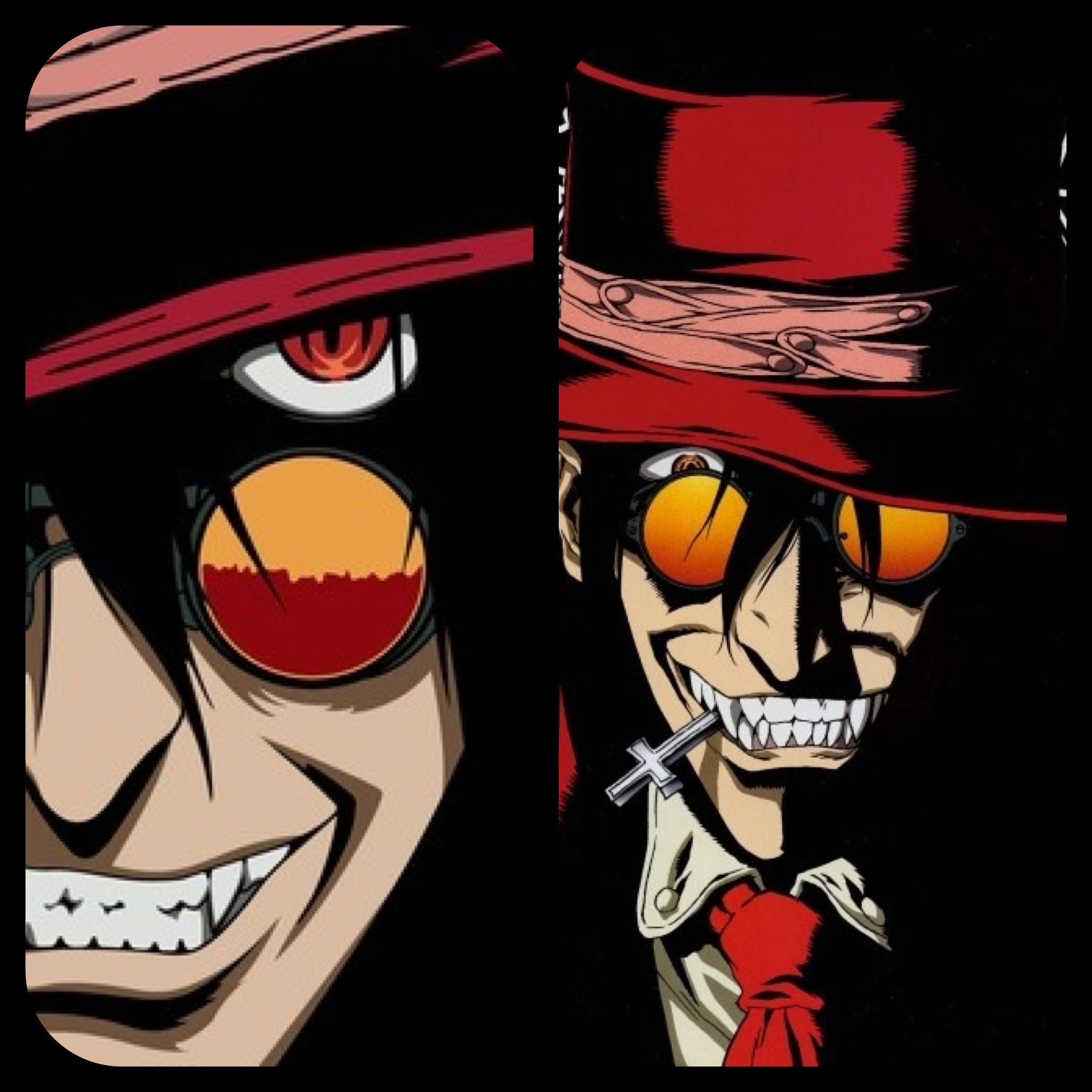 Hellsing (Hellsing Ultimate is on my towatch list