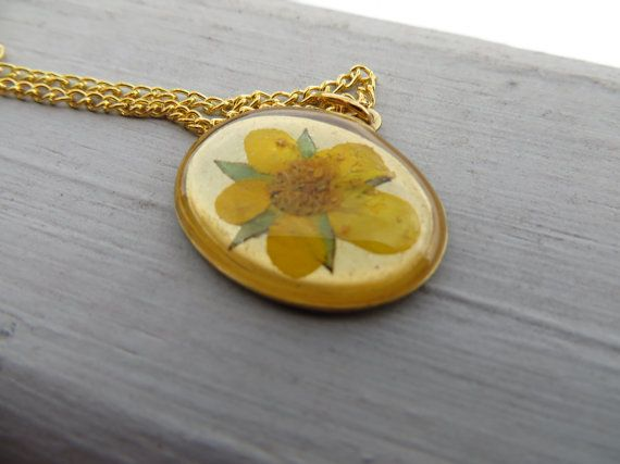 Real Flower Resin, Unique Gift, Botanical Jewelry, Resin Bracelet, Statement Jewelry