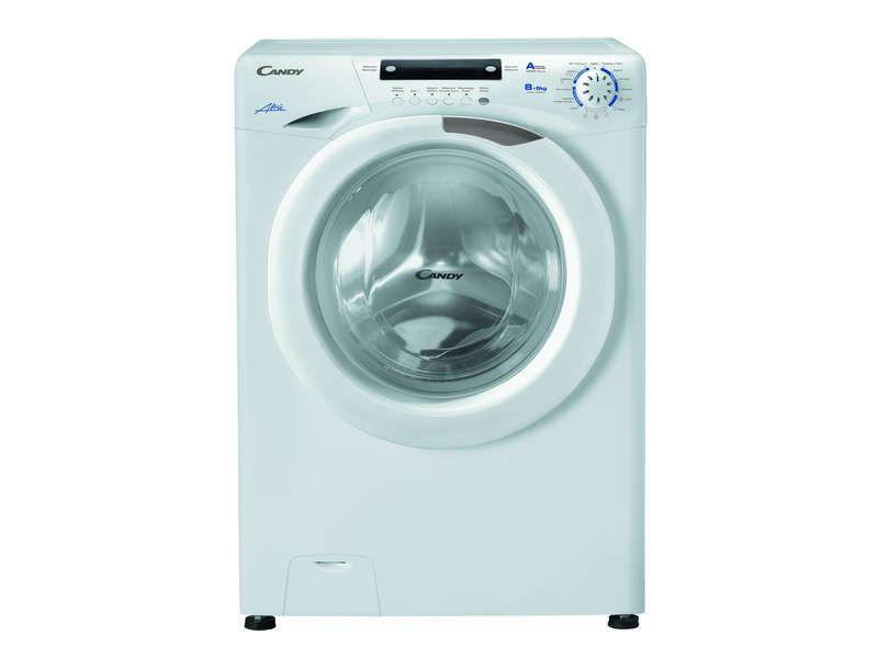 Lave-linge frontal séchant 8 kg CANDY EVOW485D prix promo lave ...