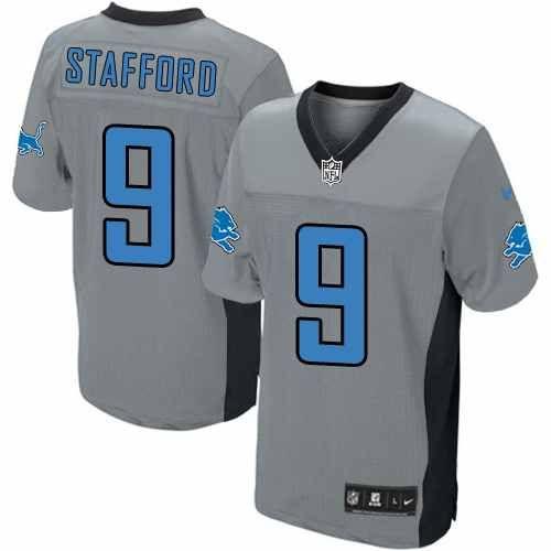 brand new 044eb 92a67 Matthew Stafford Jersey Men's Nike Detroit Lions #9 ...