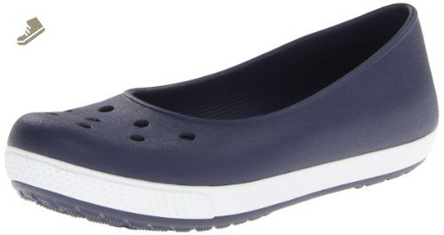 Crocs Women's Busy Day Stretch Skimmer Zapatillas de moda, Plum, 10 M US