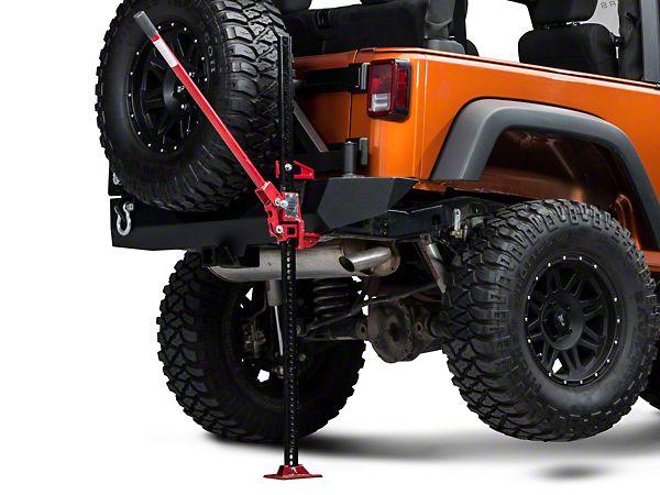 Redrock 4x4 Wrangler 60 In High Lift Jack J100784 87 16 Wrangler Yj Tj Jk Free Shipping With Images Jeep Wrangler Jeep