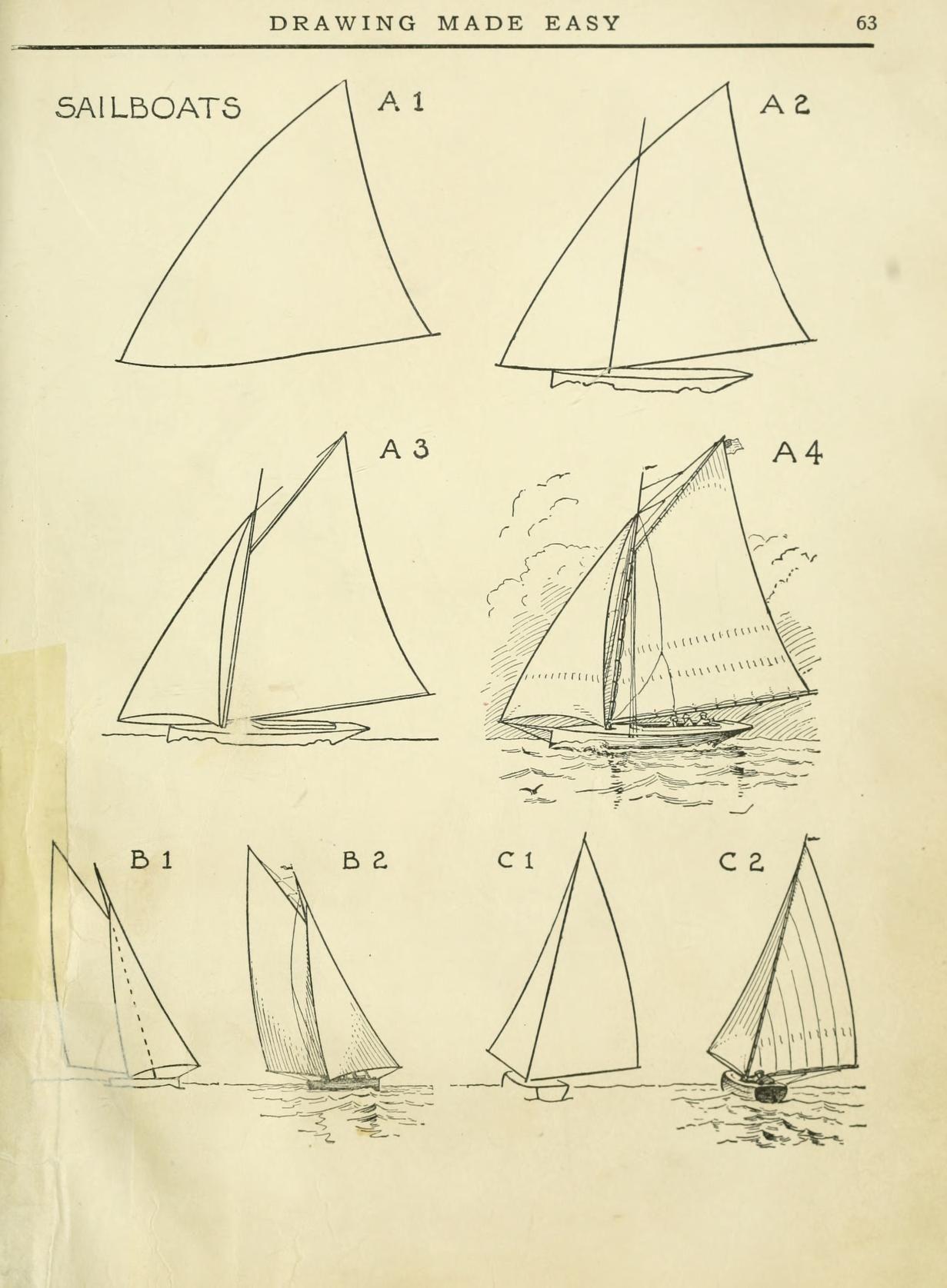 Sailboat | Maren\'s Cider Board | Pinterest | Dibujo, Dibujar y Veleros