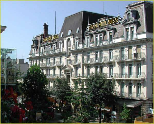 Grand Hotel Suisse Majestic Montreux Switzerland
