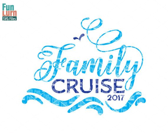 Family Cruise SVG , Digital Cutting File, svg png dxf eps