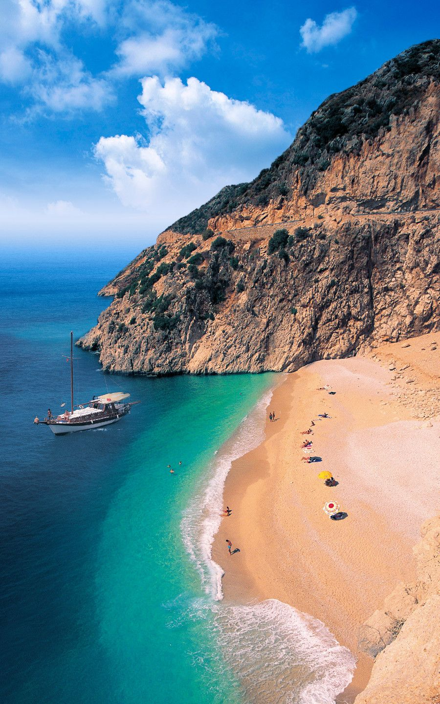Turkey. Side - delightful beaches and amazing landscapes