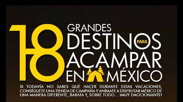 acampar, mexico