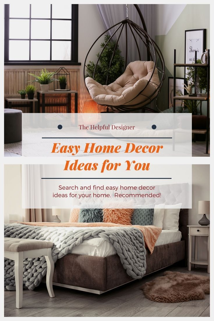 Simple and easy home decor creative concepts including these very ideas will be able make such  massive differences in your personal also rh pinterest