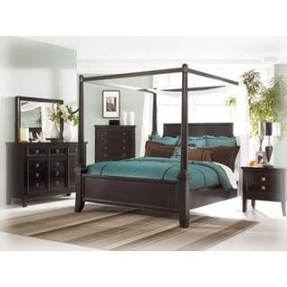 Martini Suite Canopy Bedroom Group   Canopy bedroom sets ...