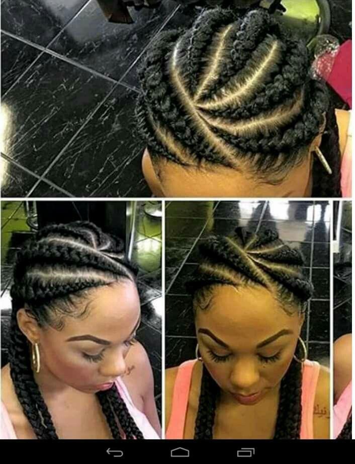 Hairstyles Braids Pinsharon Wilkesgoff On Goddess Braids  Pinterest  Hair Style
