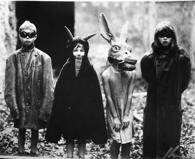 35 Creepy Cool Vintage Halloween Costumes Creepy Vintage