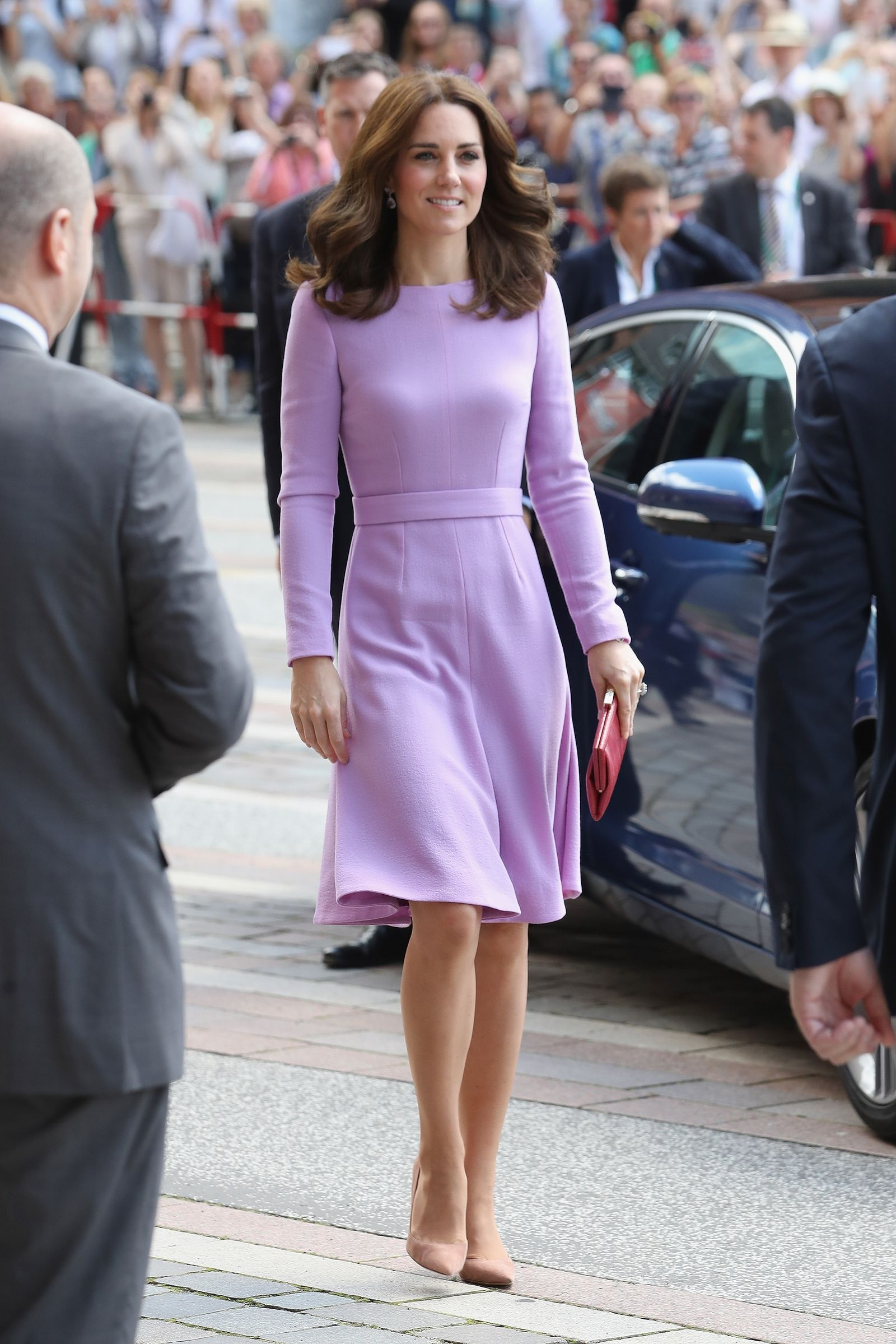 9ac7be97b Kate Middleton's Lavender Dress Will Save the World | Dutchess Kate ...