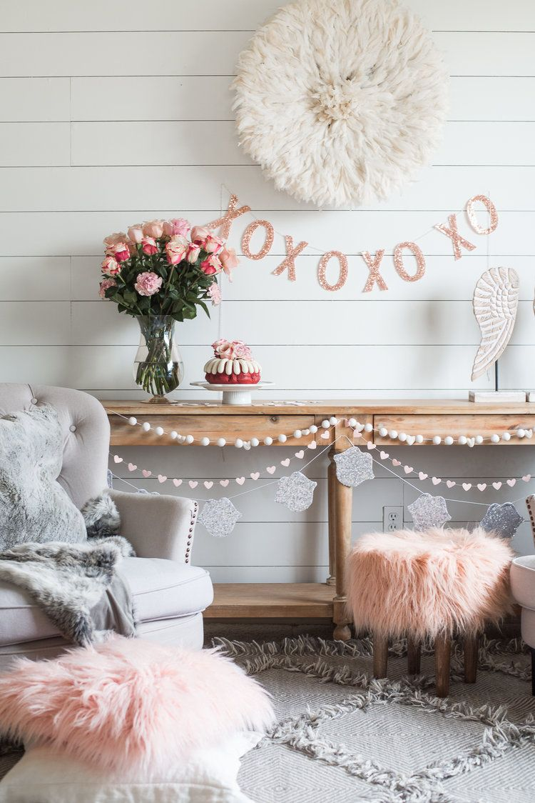 Simple and Easy Valentines Day Party Decor | Minimalist | Pinterest ...