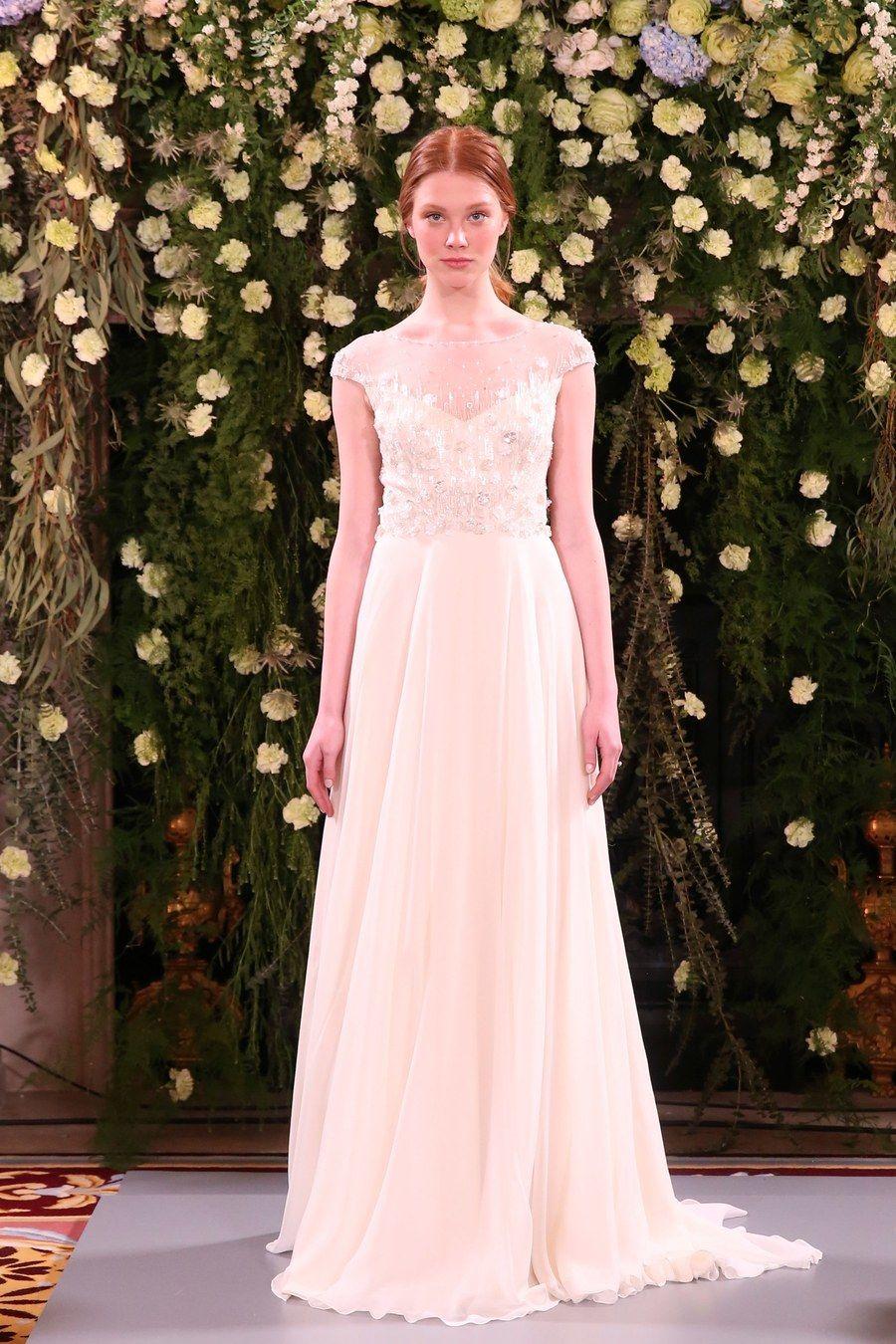 6e8cc158f18 Jenny Packham Bridal Spring 2019 Fashion Show