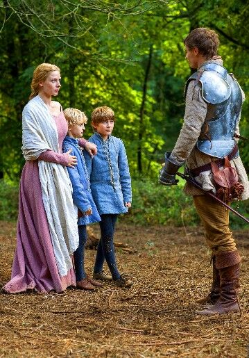 The White Queen - first meeting under the oak tree