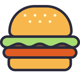 Image Result For Burger Icon Burger Icon Food Sketch Burger