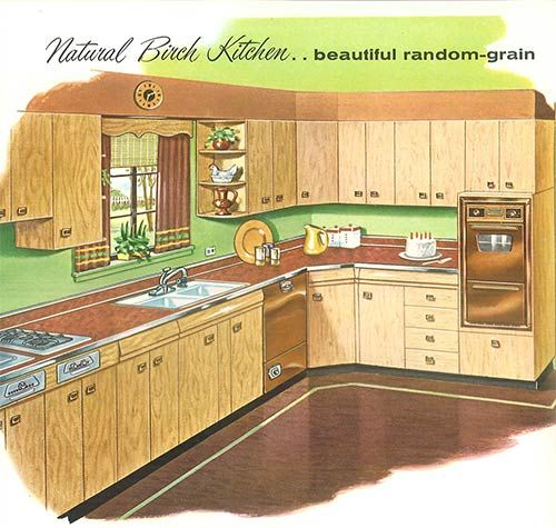 1958 Sears Kitchen Cabinets And More  32 Page Catalog  Birch Alluring Sears Kitchen Cabinets Review