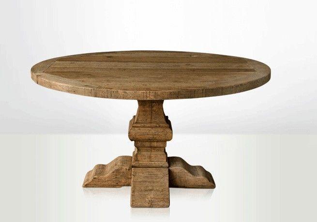 Table ronde en bois, table en bois ronde, table ronde bois, table de