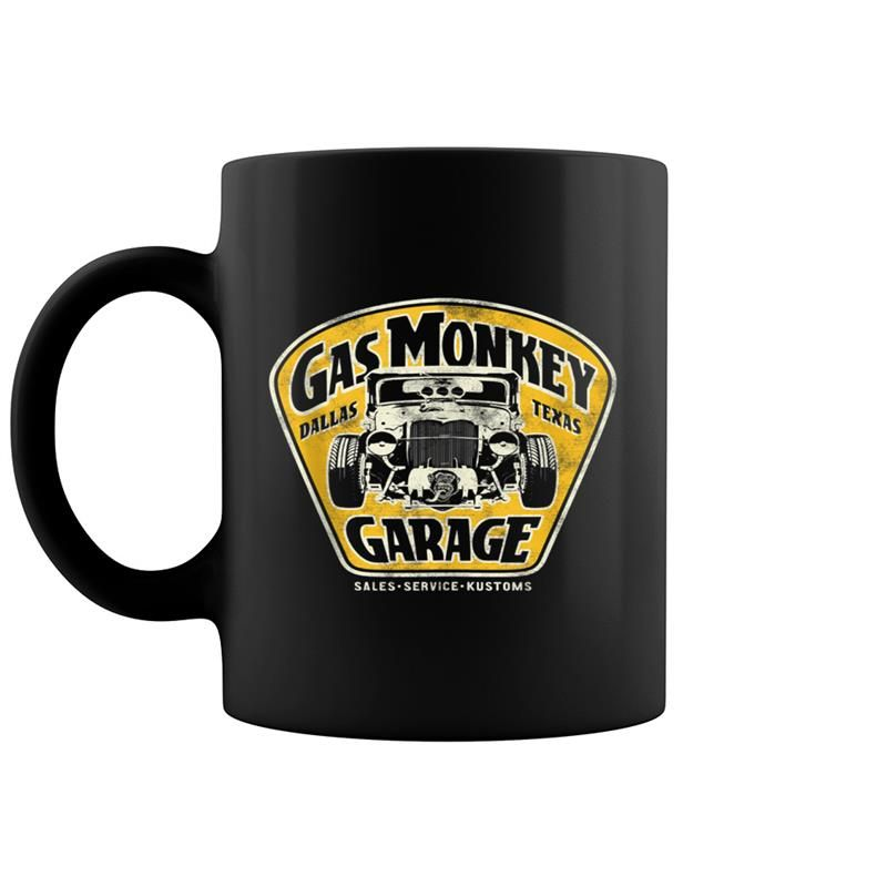 Gas Monkey Garage Muscle Car Sign Logo #gasmonkeygarage